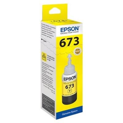 EPSON L800 T6734 (70 ML) SARI KARTUŞ MÜREKKEBİ