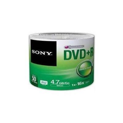 SONY DVD+R 16X 4,7 GB 50 Lİ