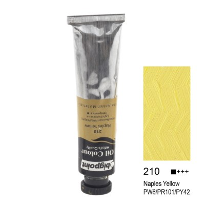 YAĞLI BOYA 45 ML NAPLES YELLOW 210