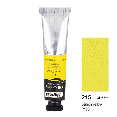 YAĞLI BOYA 45 ML LEMON YELLOW 215