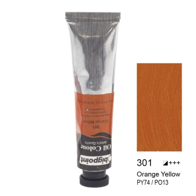 YAĞLI BOYA 45 ML ORANGE YELLOW 301